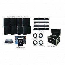 American DJ AV6X Video Wall 4x2 Complete Package