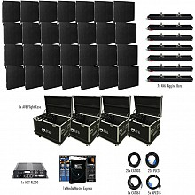 American DJ AV6X Video Wall 7x4 Complete Package