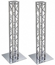 Global Truss 6.4ft Square Truss Totem Package w/ Large Base Plates