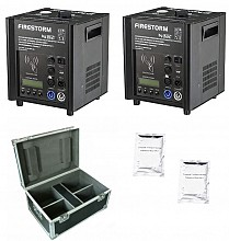 JMaz FireStorm F3 Package - 2x Cold Spark Machines, 2x 200g Powder, 1x Case