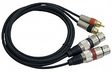 Pro PRC-X05 (Dual RCA to Dual XLR Female)